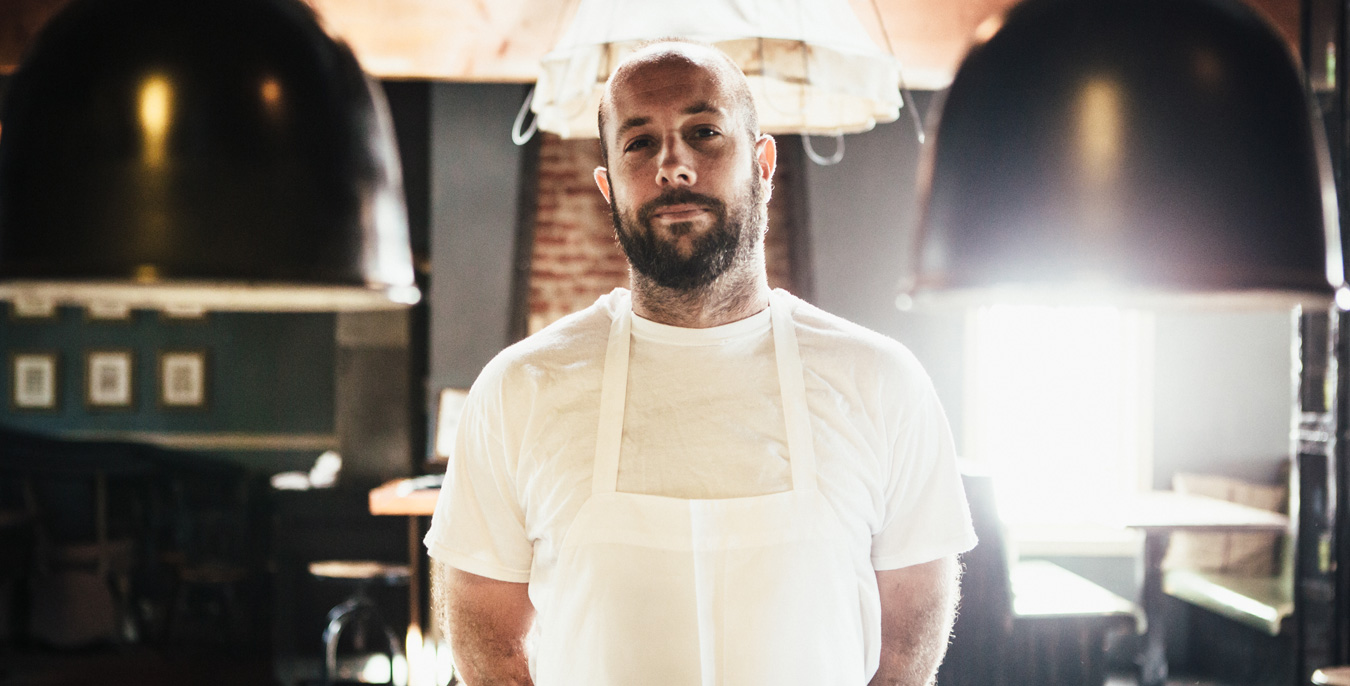 Chef Jared Levy of Eveleigh
