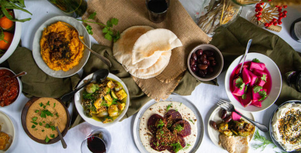 Chef Zachary Engel's Salatim at Home